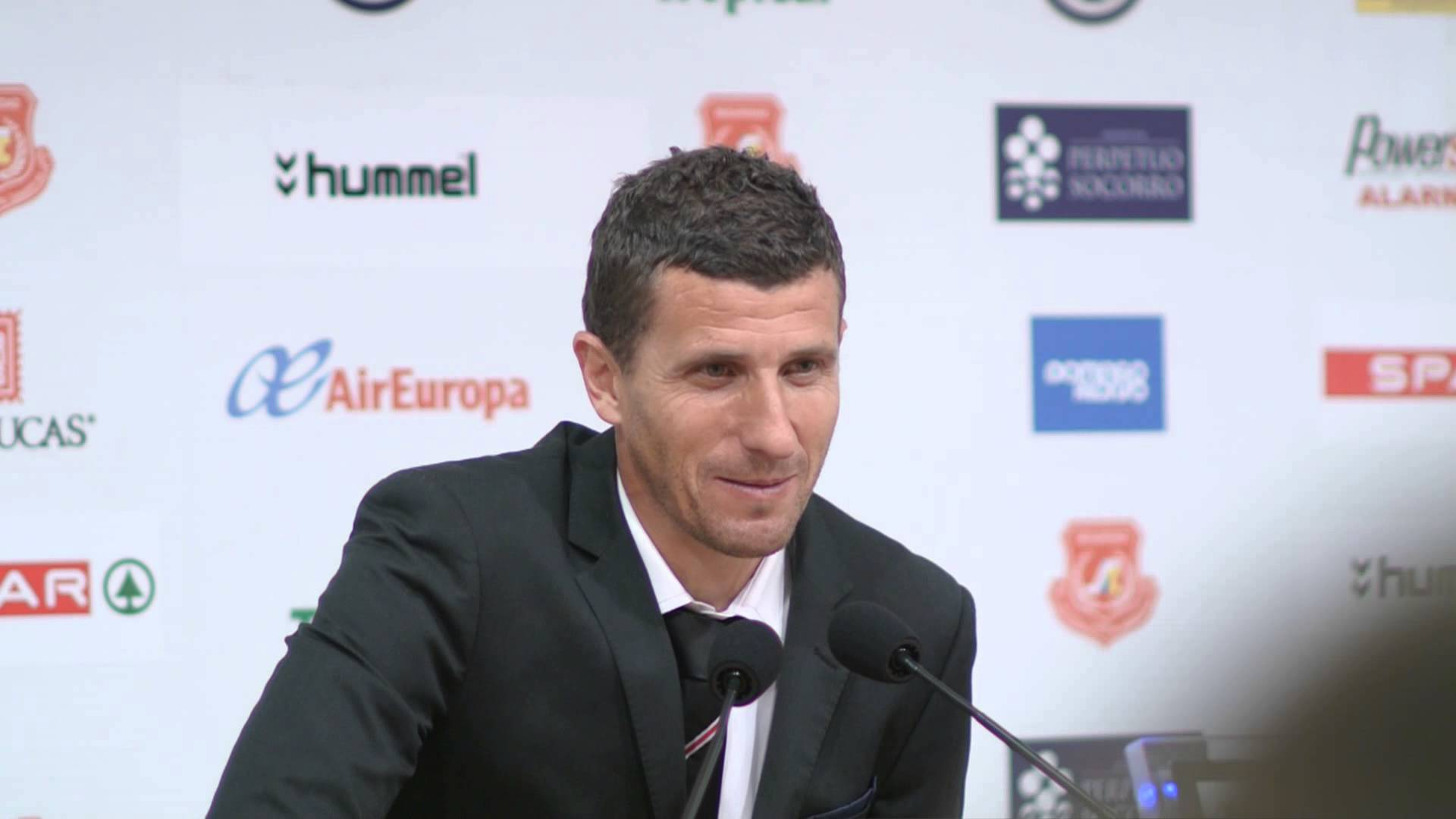 Javi Gracia consistently had to deal with players departing - Image via youtube