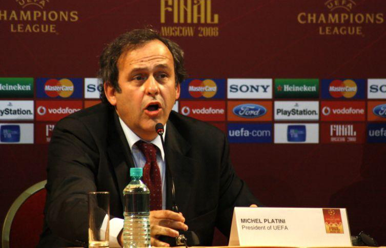 Michel Platini championed the interests of Eastern European countries. Picture by Elena Rybakova     CC-BY-SA-3.0