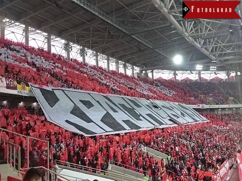 Spartak vs Zenit will take place at the Otkritie Arena