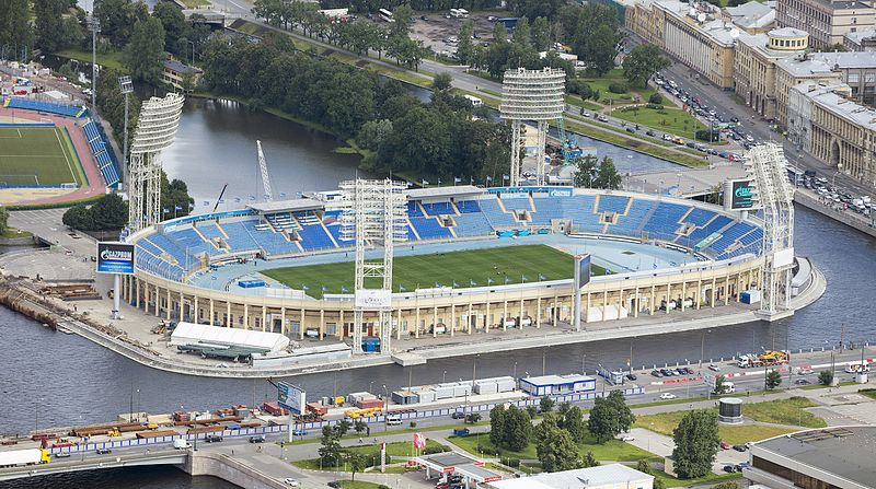 Could the Petrovsky Stadium become the new home of Dinamo Saint Petersburg? Image by Andrew Shiva / Wikipedia / CC BY-SA 4.0