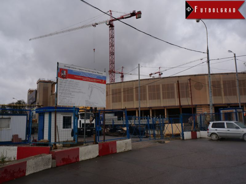 Dinamo Moscow - Bankruptcy could mean that the stadium could be opened with a third division club playing at the arena.