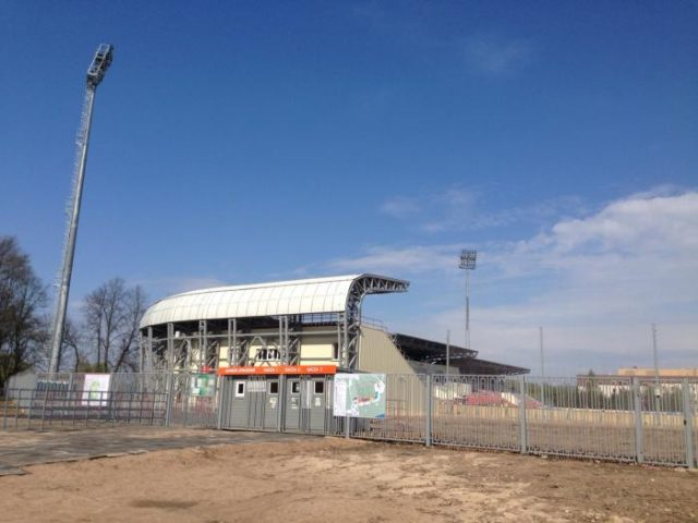 FC Tosno have been playing in the Elektron Stadium in Novgorod - Image by Wikimedia