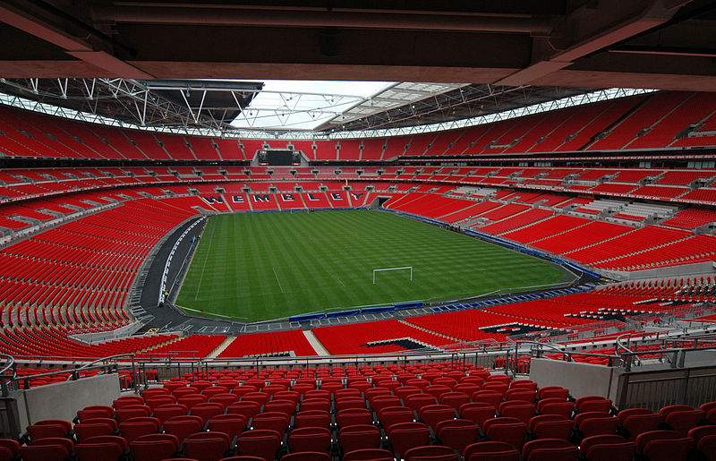 England vs Lithuania will take place at Wembley Stadium - Image by Jbmg40 CC-BY-SA-3.0