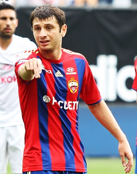 Alan Dzagoev is CSKA Moscow's prime asset - Image by Nataliya Kondratenko CC-BY-SA-3.0