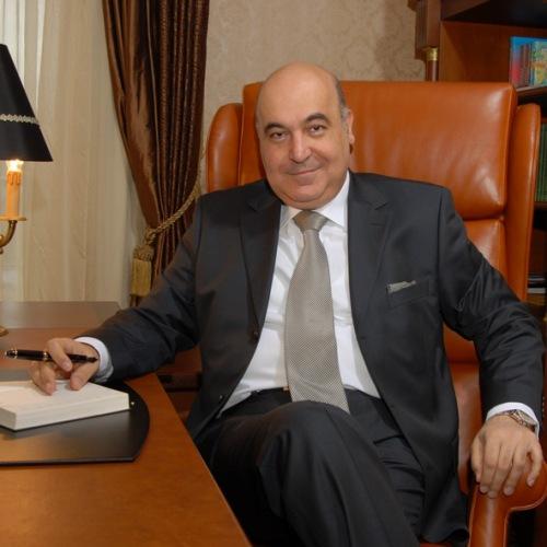 Writer Chingiz Abdullayev is now the president of Neftchi Baku - Image by Anastasia Bukh CC-BY-SA-3.0