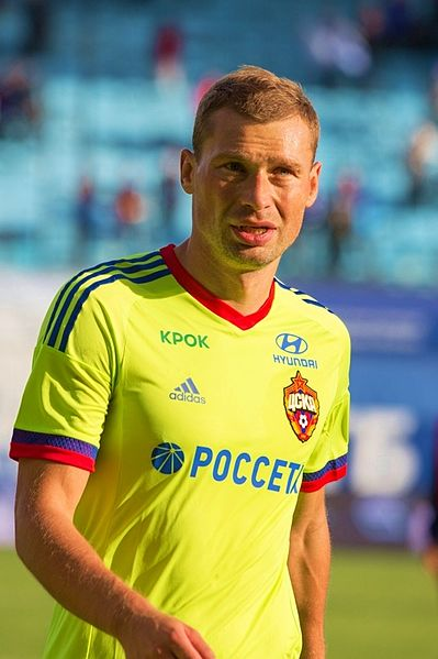 Aleksey Berezutsky failed a doping test after a Champions League group stage match against Manchester United in 2009 - Image by Ekaterina Laut CC-BY-SA-3.0