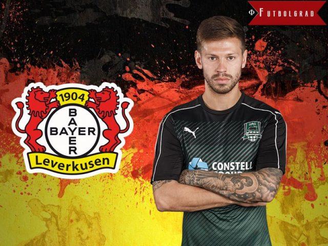 Fedor Smolov Bayer Leverkusen