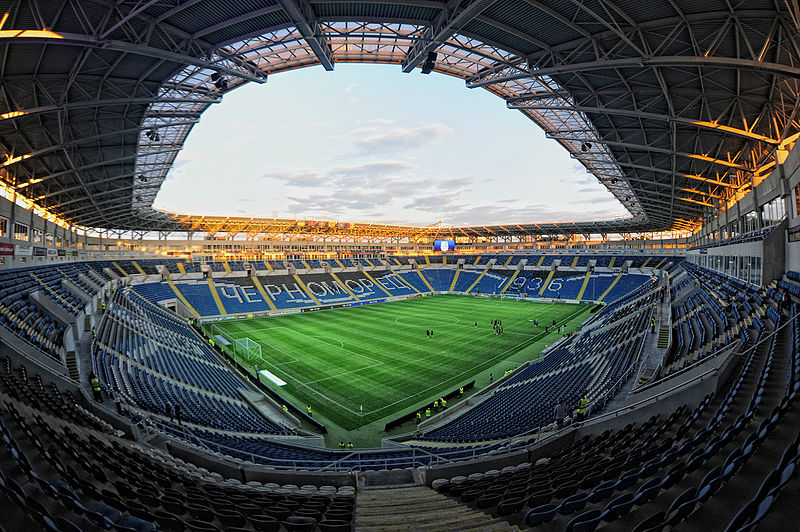 Mariupol vs Bordeaux will take place at the Chornomorets Stadium in Odessa - Image by V & A Dush CC-BY-3.0