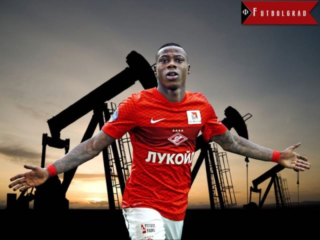 Quincy Promes Oil Money Spartak
