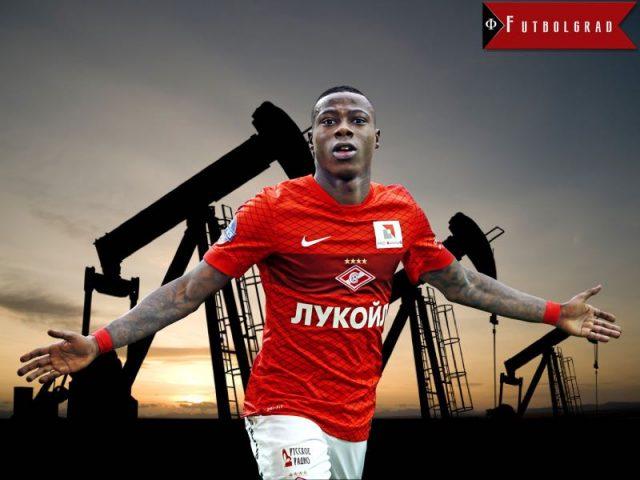 Quincy Promes Oil Money Spartak