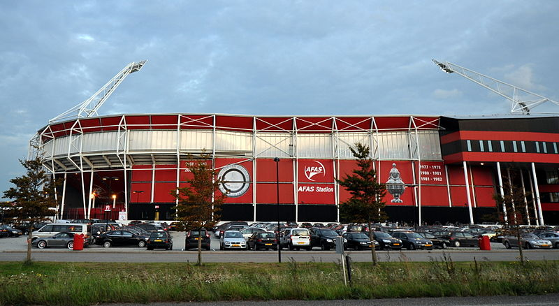 AZ Alkmaar vs Zenit will take place at the AFAS Stadion on Thursday - Image by Marco Verch CC-BY-2.0