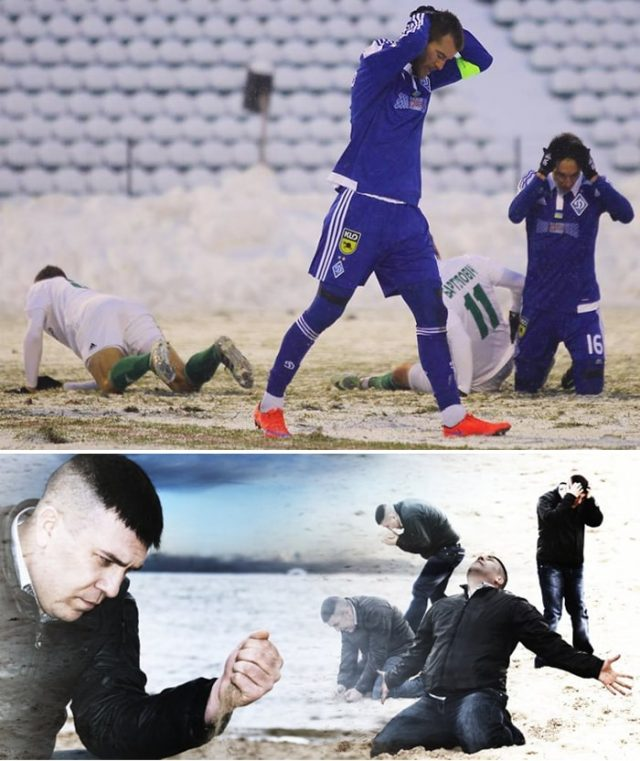 Dynamo Kyiv's season is slowly turning into a nightmare... - Image via ua.tribuna.com