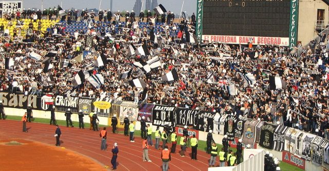 There will be no European football for Partizan fans in the foreseeable future - Image by Grobar