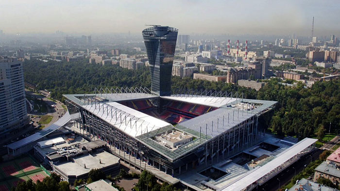 Russia vs Chile will take place at the VEB Arena - Image by Mos.ru