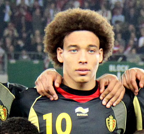 Axel Witsel, here for Belgium, is still in its prime - Image by Steindy CC-BY-SA-3.0,2.5,2.0,1.0