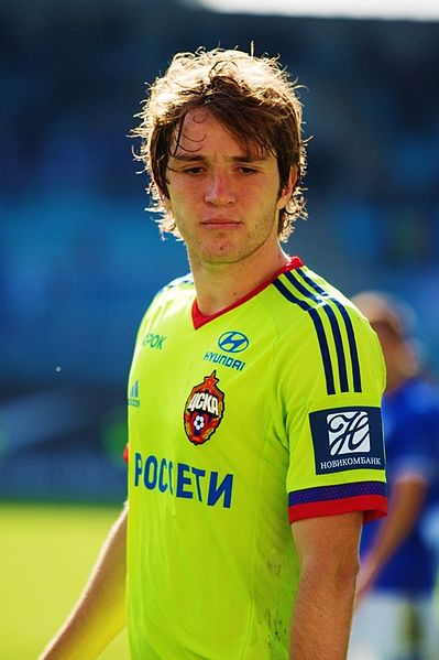 Mário Fernandes has been a major part of CSKA Moscow since 2012 - Image by Ekaterina Laut CC-BY-SA-3.0