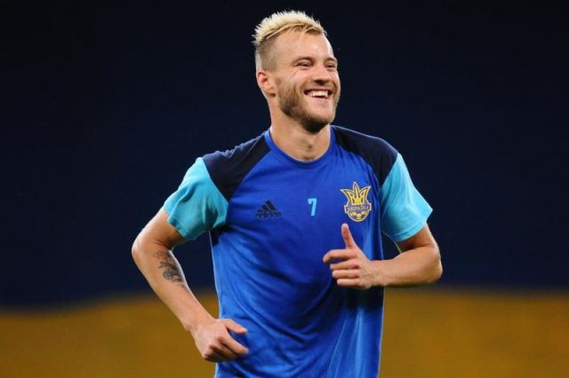 Andriy Yarmolenko remains the most valuable player of the Ukrainian national team - Image by Ilya Khokhlov  CC-BY-SA-3.0