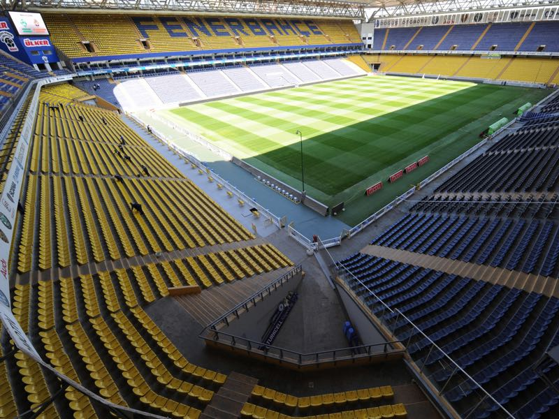 Fenerbahçe vs Krasnodar will take place at the Şükrü Saracoğlu Stadium in Istanbul (MUSTAFA OZER/AFP/Getty Images)