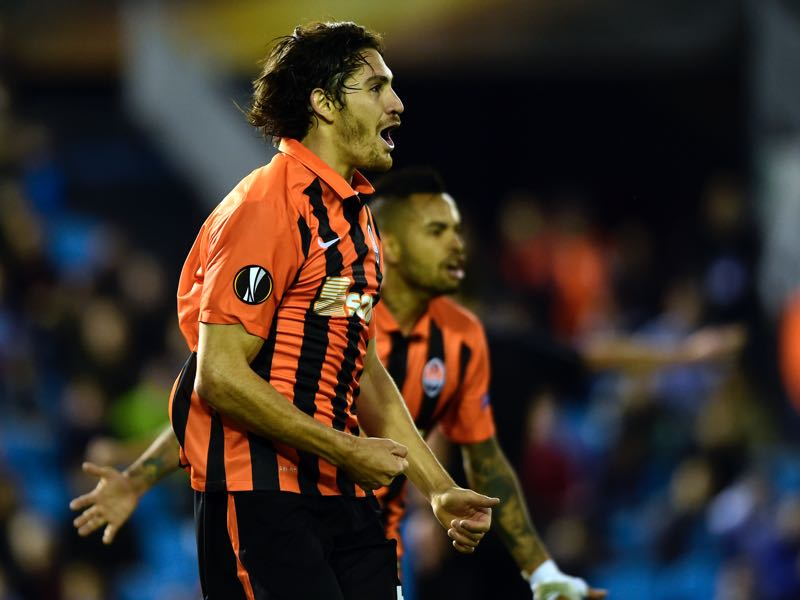 Gustavo Blanco Leschuk scored Shakhtar's winner in Spain, and is one player to keep an eye out. (MIGUEL RIOPA/AFP/Getty Images)