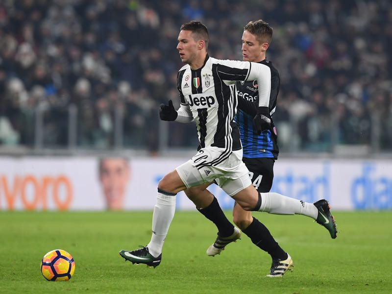 Marko Pjaca (L) is one of the five players to look out for in the Champions League (Photo by Valerio Pennicino/Getty Images)