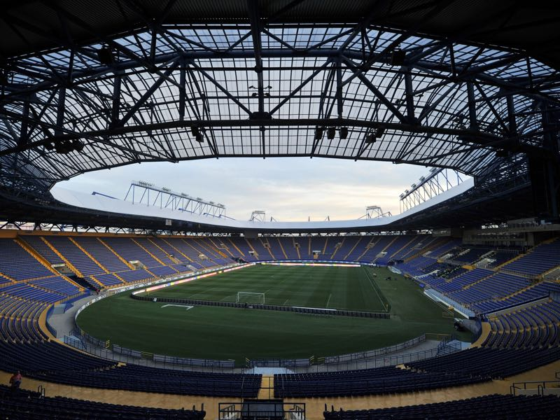 Shakhtar Donetsk Champions League Preview - The Metalist Stadion will be Shakhtar's home stadium for Champions League games.  (Photo by Genya Savilov/EuroFootball/Getty Images)