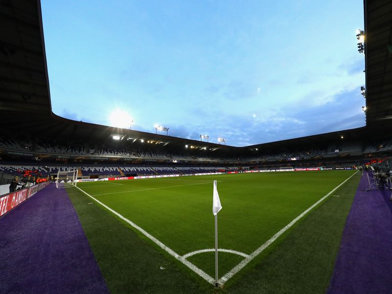 RSC Anderlecht vs Zenit will take place at the Constant Vanden Stock Stadium in Brussels. (Photo by Dean Mouhtaropoulos/Getty Images)