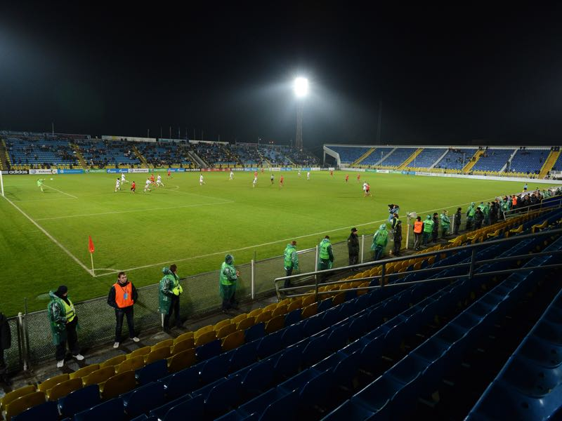 Rostov vs Manchester United will take place at the Olimp-2 in Rostov (Photo by Natalia Kolesnikova/EuroFootball/Getty Images)