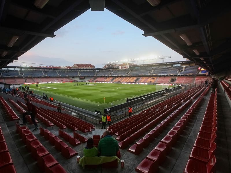 Sparta Prague vs Rostov will take place at the Generali Arena in Prague. (Photo by Matej Divizna/Getty Images)