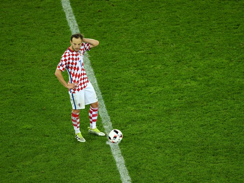 Ivan Rakitić will be one of Croatia's key players (Photo by Shaun Botterill/Getty Images). Croatia vs Ukraine