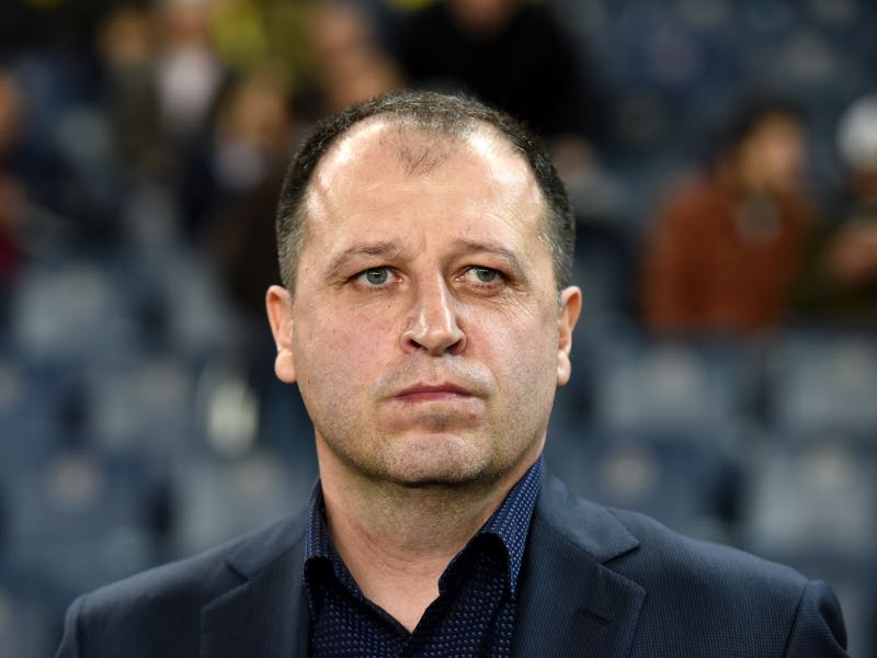 Yury Vernydub has been the father of Zorya Luhansk's success. (OZAN KOSE/AFP/Getty Images)