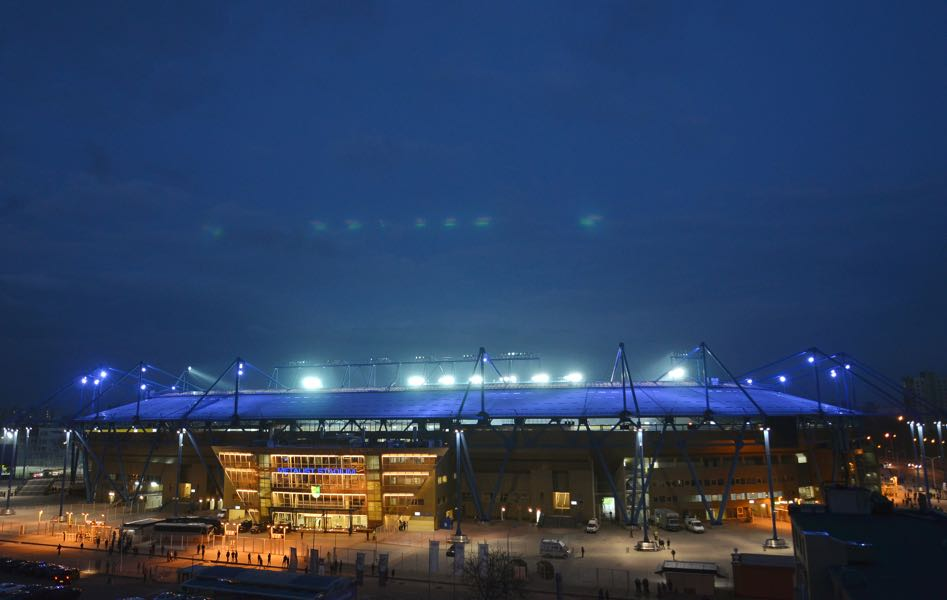 Ukraine vs Turkey will take place at the Metalist Stadium in Kharkiv. (Photo by Genya Savilov/EuroFootball/Getty Images)