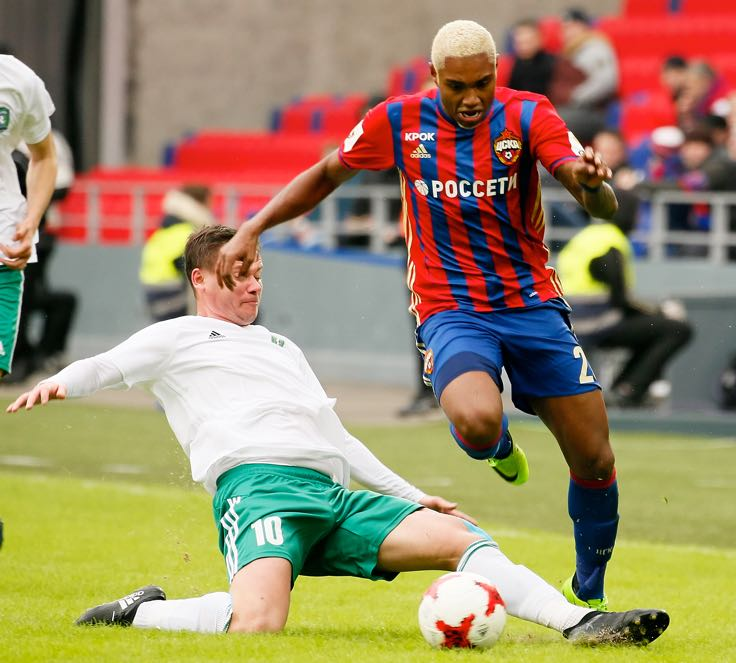 Vitinho is our player to watch in the Moscow Derby CSKA vs Lokomotiv. (Photo by Epsilon/Getty Images)