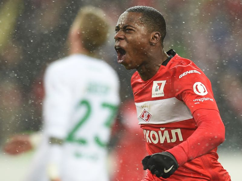 Quincy Promes is the Spartak Moscow player to watch. (Photo by Epsilon/Getty Images)