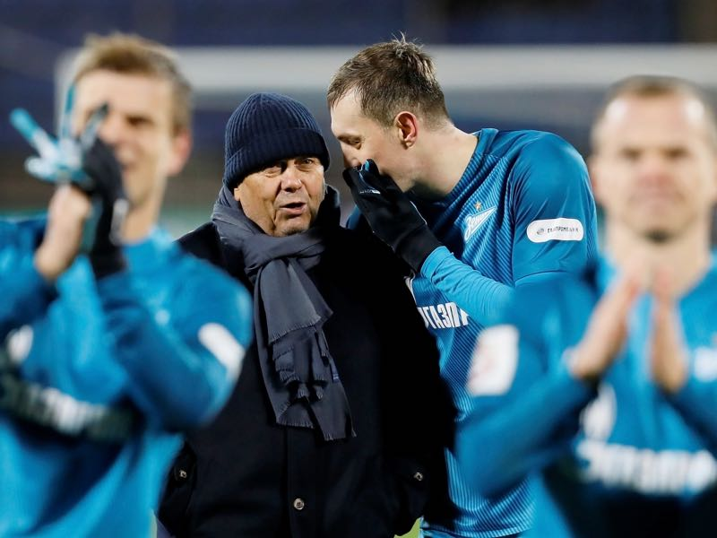 It has not been all fun and laughter for Mircea Lucescu at Zenit Saint Petersburg. (Photo by Epsilon/Getty Images)