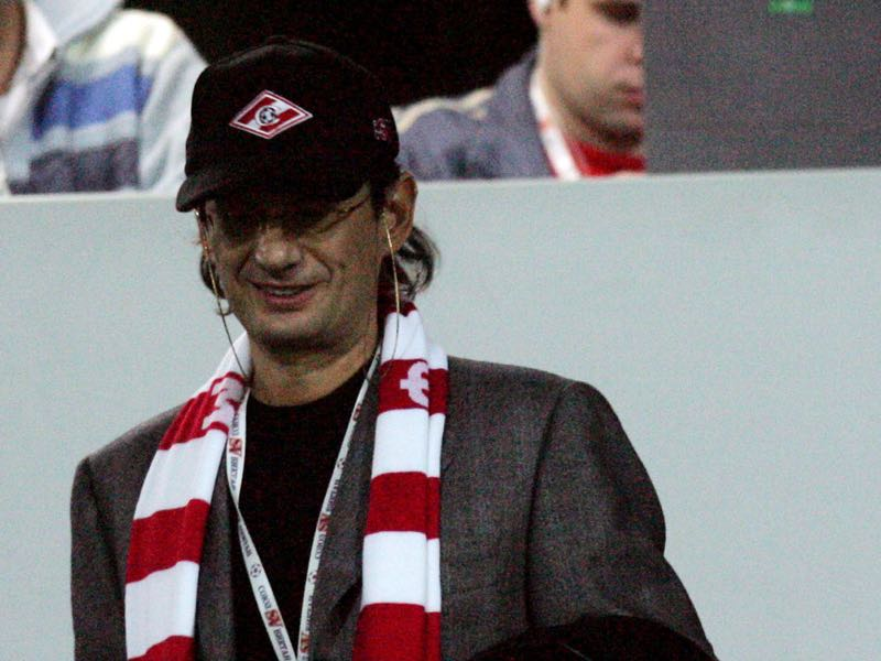 Oligarch Leonid Fedun is Spartak's owner. (Photo by Tal Cohen/Getty Images)