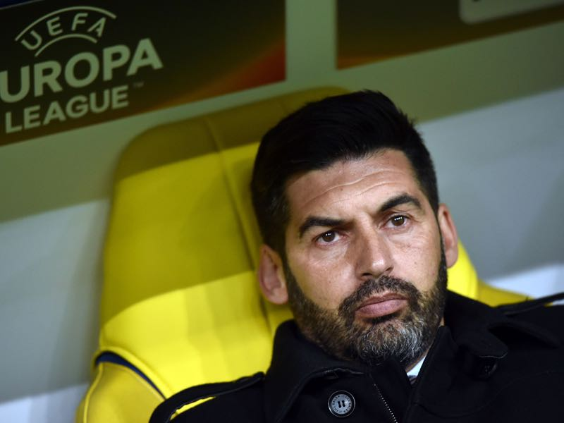 Paulo Fonseca oversaw a successful first season in Ukraine.(GENYA SAVILOV/AFP/Getty Images)