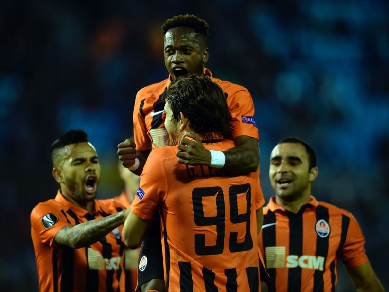 Shakhtar Donetsk have regained the Ukrainian title. (MIGUEL RIOPA/AFP/Getty Images)