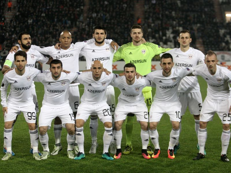 Qarabag have once again won the Azerbaijan Premier League title. (SAKIS MITROLIDIS/AFP/Getty Images)