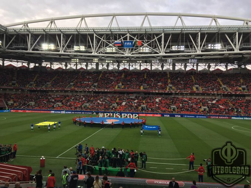 Russia v Portugal everything is set for the main event. Image by Manuel Veth