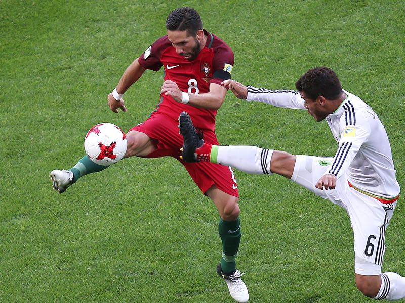 Moutinho will be Portugal's key player against Russia. (ROMAN KRUCHININ/AFP/Getty Images)