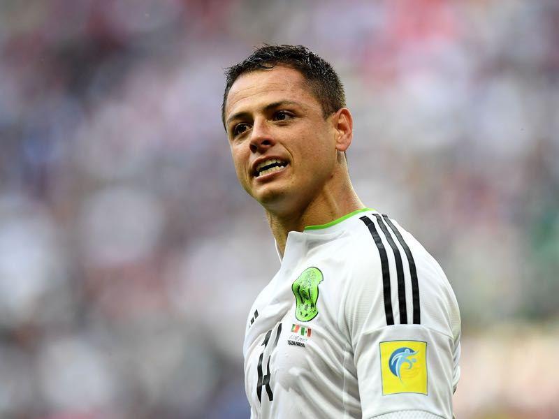 Chicharito will be key to Mexico's success. (FRANCK FIFE/AFP/Getty Images)