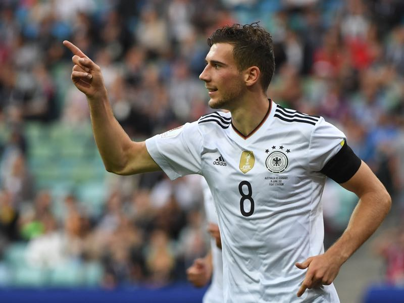 Leon Goretzka was Germany's best player against Australia and easily made our eight players to watch list. (PATRIK STOLLARZ/AFP/Getty Images)