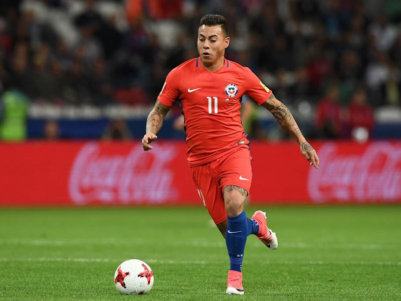 Eduardo Vargas seems to flourish for La Rosa and struggle for his club sides. (FRANCK FIFE/AFP/Getty Images)