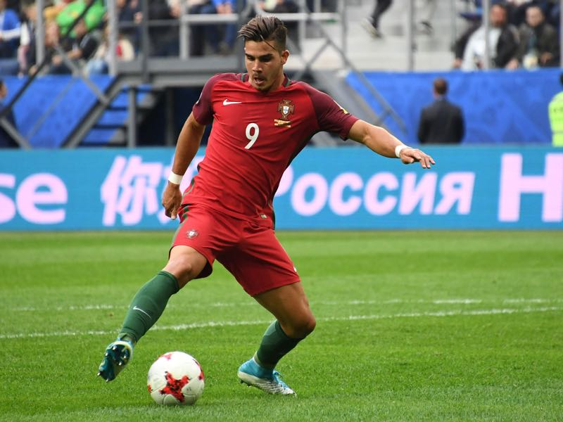 André Silva is one of the four players to watch in the semi-finals of the Confederations Cup.(KIRILL KUDRYAVTSEV/AFP/Getty Images)