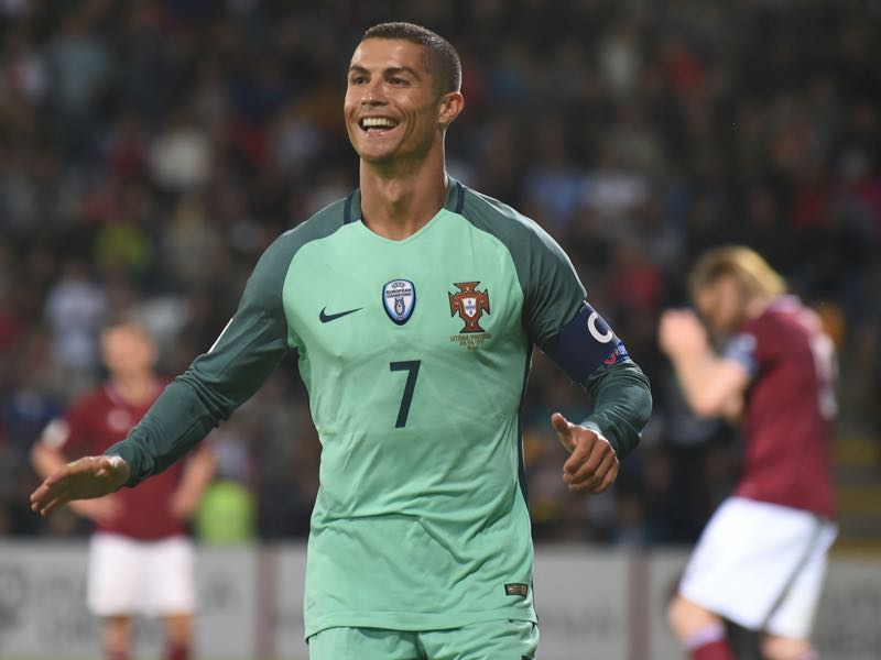 Cristiano Ronaldo was a big part of Portugal's 2017 FIFA Confederations Cup squad. (JANEK SKARZYNSKI/AFP/Getty Images)