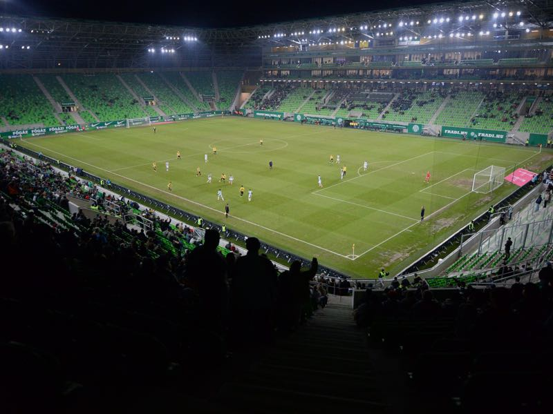 Hungary vs Russia will take place at the Groupama Arena in Budapest. (ATTILA KISBENEDEK/AFP/Getty Images)