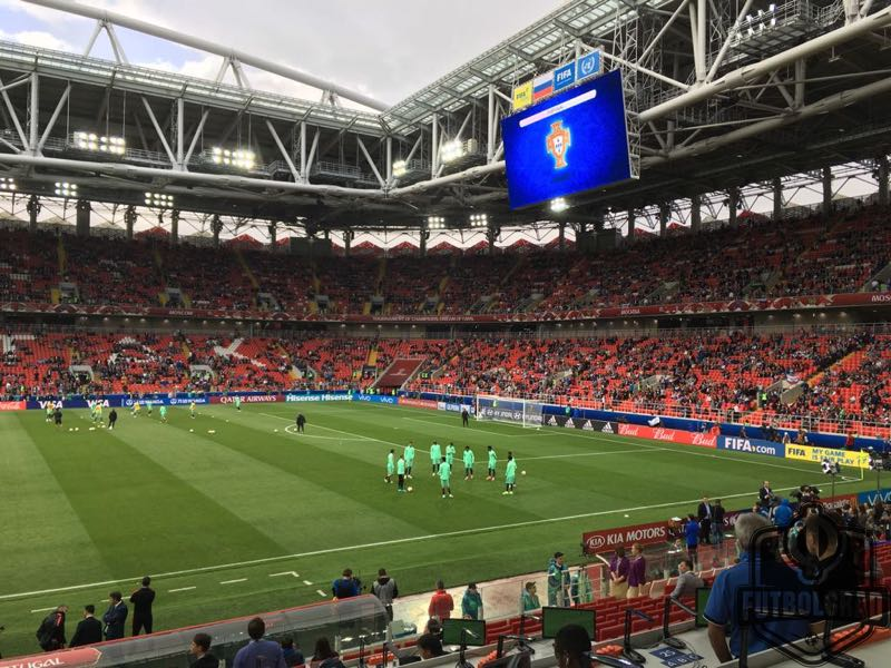 Russia v Portugal Warmup - Image by Manuel Veth