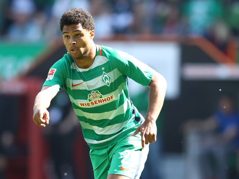 Super talent Serge Gnabry has been delegated to the U-21 squad this summer.(Photo by Oliver Hardt/Bongarts/Getty Images)