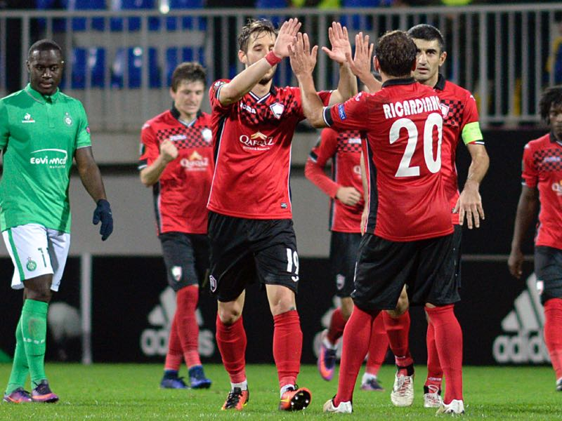 Gabala will be Qarabag's biggest challenger. (TOFIK BABAYEV/AFP/Getty Images)