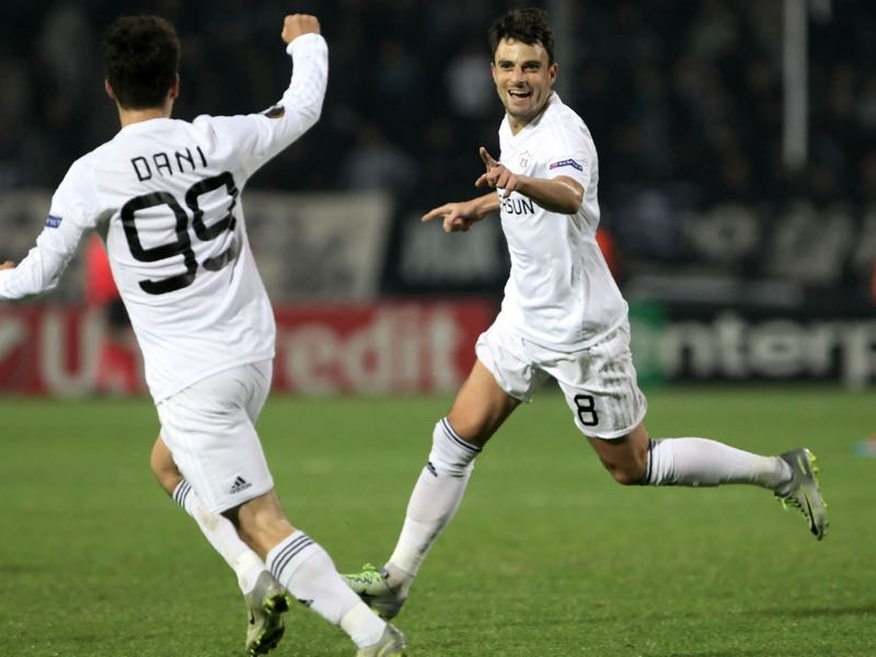 Qarabag will want to continue their dominance over the Azerbaijan Premier League. (SAKIS MITROLIDIS/AFP/Getty Images)